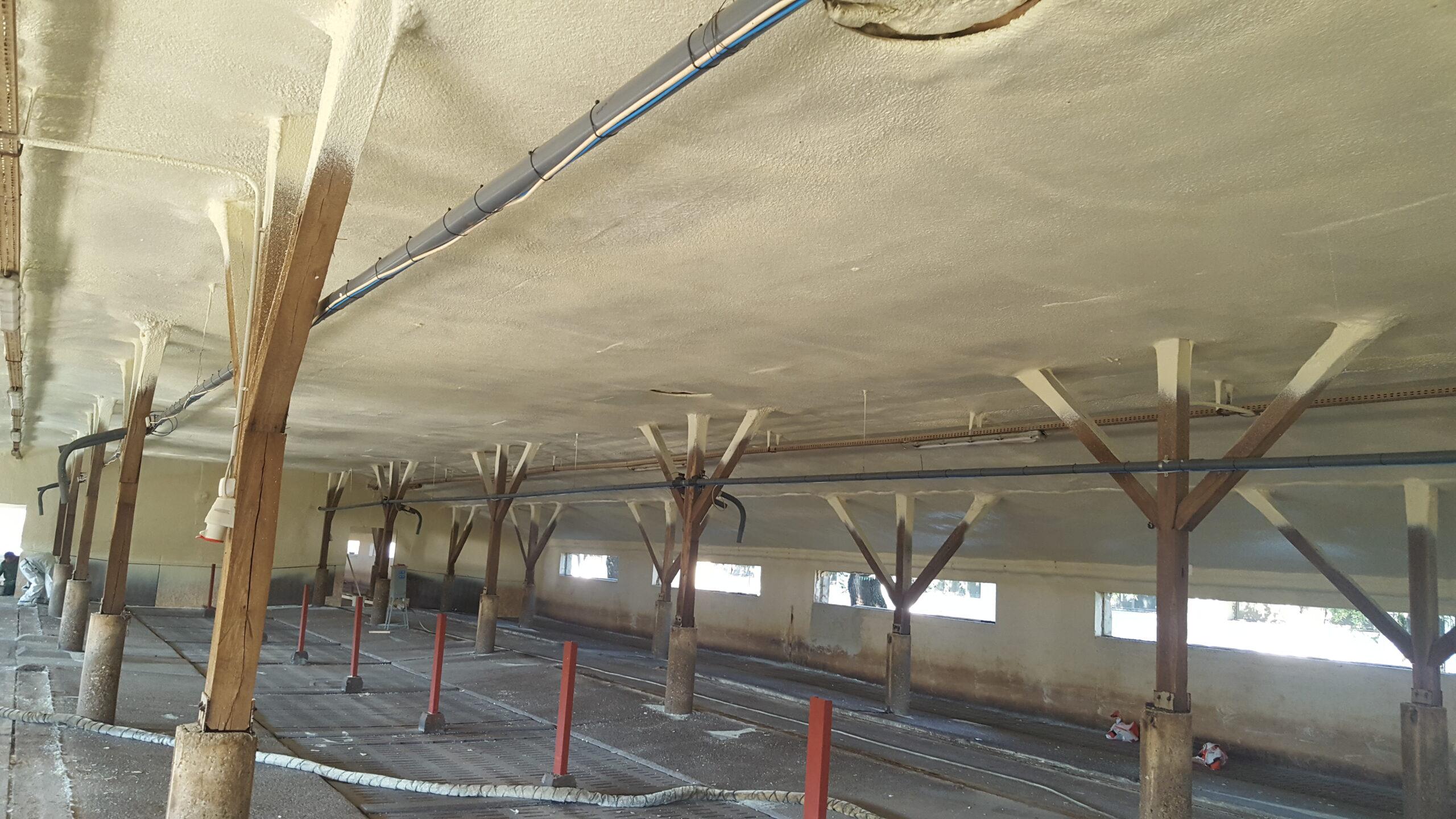 Terménytárolók, állattartó épületek szigetelése