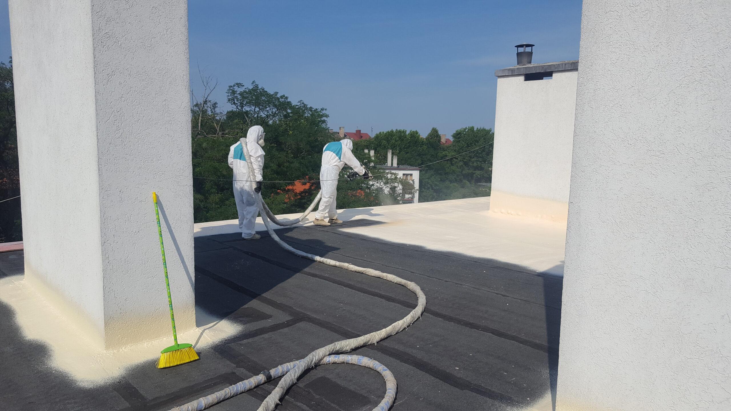 Lapostetők és panelházak szigetelése